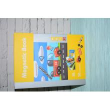 """Магнитная книга """"Транспортные средства"""" головоломка"""