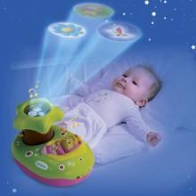 Музыкальный проектор со светом и звуком для малышей