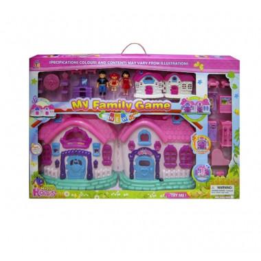 Кукольный домик со светом и звуком