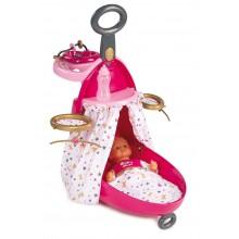 Набор для кормления и купания пупса в чемодане от Baby Nurse