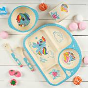 "Набор посуды ""My Little Pony cupcake"" из бамбукового волокна"